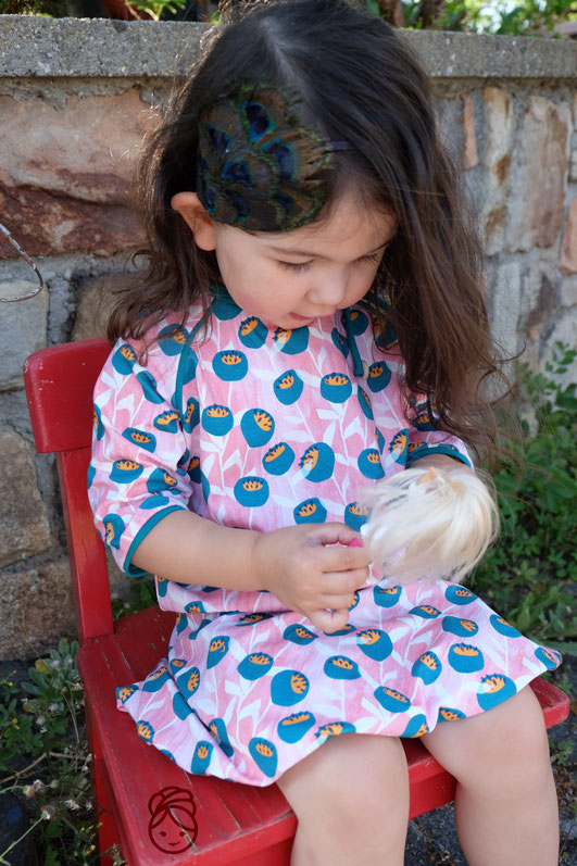 Katjuschka - Little Miss Easy & Little Bella Balloon Ballonrock Raglanshirt Raglan Shirt Kindershirt Kinderrock Mädchenrock