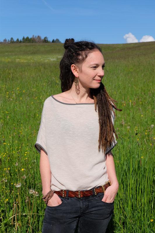 Katjuschka - Easy Knit - freeBook - gratis Nähanleitung - Oversize Shirt