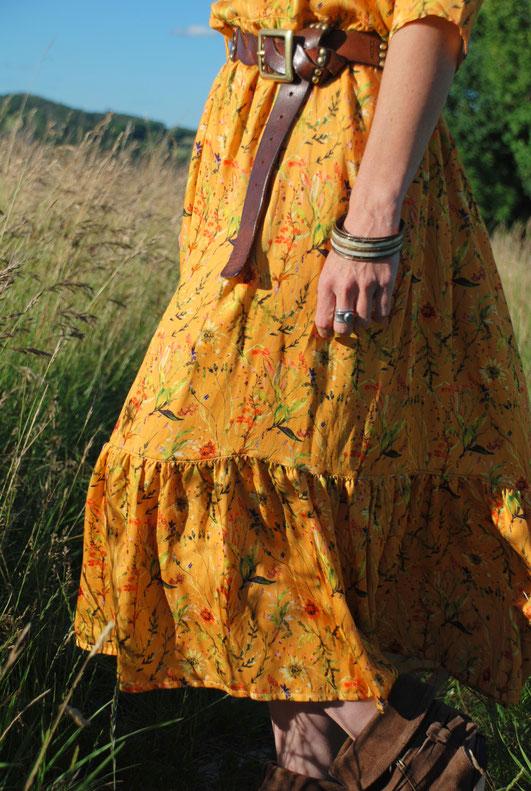 Boholicious  aus Bluse wird Kleid