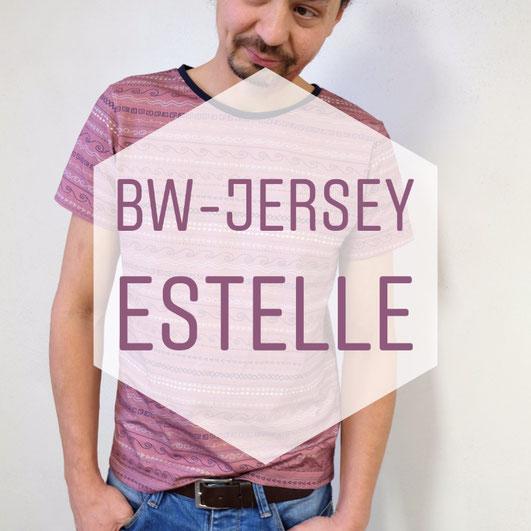 Katjuschka - Mister T Baumwolljersey BW-Jersey Jersey T-Shirt Swafing
