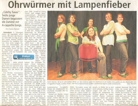 Offenbach Post, 4. April 2010