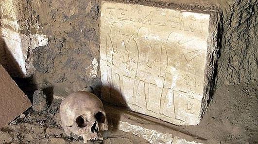 Restes romains frappés par une grande épidémie retrouvés en Egypte