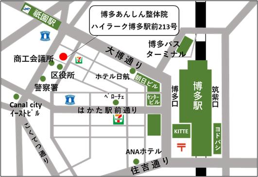 移転先の地図イメージ