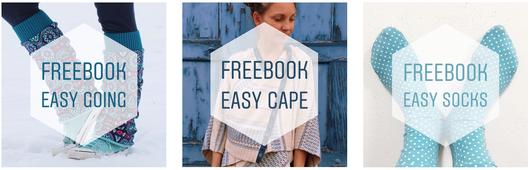 Katjuschka - freeBooks 2019 Easy Cape Socks Tube Tellerrock