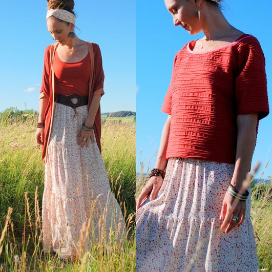 Einzelteil oder ganzes Outfit - ein Beispiel für eine Mini-Kollektion