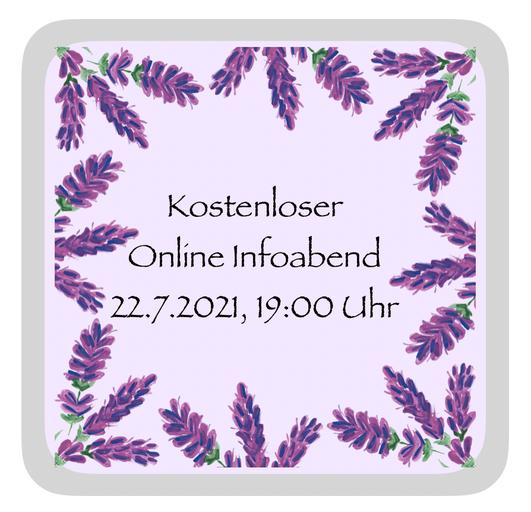 kostenloser online infoabend 22.7.2021, 19:00 Uhr