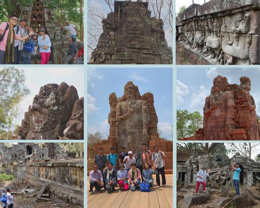 大プリアカーン|カンボジア旅行|オークンツアー|現地ツアー