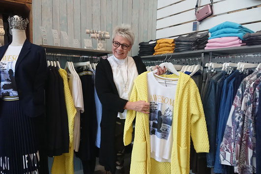 Modeberaterin Bea Esche mit trendigen Tipps.