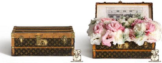 cadeau VIP malle a fleurs
