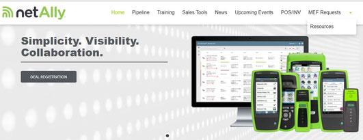 NetAlly Tools zum Analysieren von Netzwerken