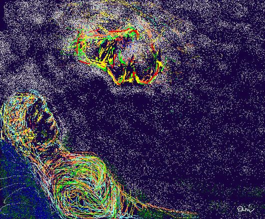 SOGNO - 2012 dipinto digitale