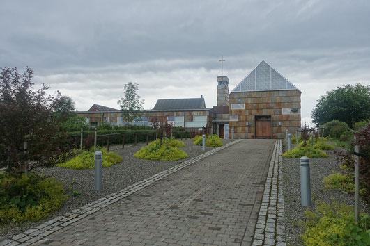 Mariakloster Tautra von außen.