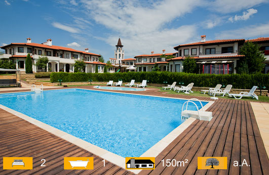 Immobilien Golfplatz Bulgarien