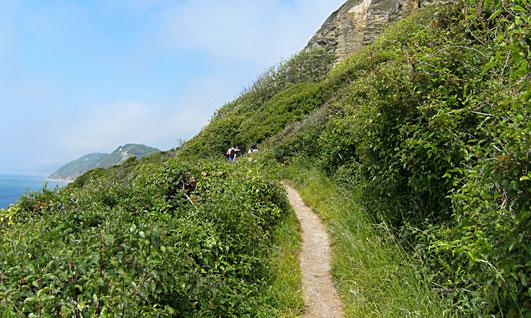 Wanderweg Under Hooken