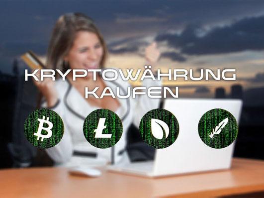 Kryptowährungen kaufen. So gehts