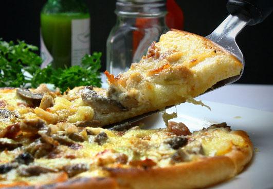 Pizzaöl aus wilden Kräutern