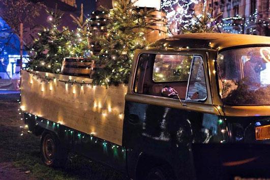 Service livraison de sapins de Noël à Paris