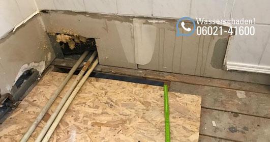 SAGA Wasserschaden Aschaffenburg / Wasserschaden Reparatur in einem Mehrfamilienhaus in Aschaffenburg / Wasserschaden in einer Wohnung in Aschaffenburg