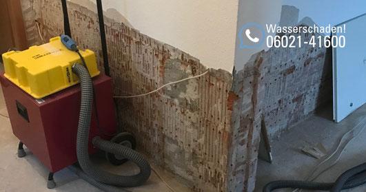 SAGA Wasserschaden Aschaffenburg / Wasserschaden durch Unwetter in Kahl und Alzenau / Sturmschaden durch Wassereinbruch in Mehrfamilienhaus