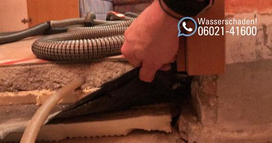 SAGA Wasserschaden Aschaffenburg / Wasserschadenhilfe: Wasserschaden inkl. Reparatur in Mainaschaff / Wiederherstellung eines Wasserschadens / Rohrbruch in Aschaffenburg