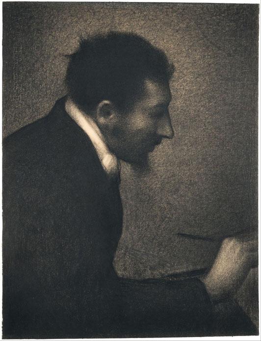 《アマン・ジャンの肖像画》1882–83年