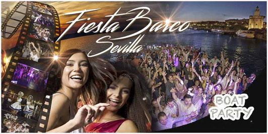 fiesta en barco Sevilla