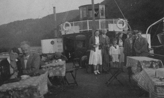 """Pfingsten 1932 Dampferfahrt auf der """"Kaiser Wilhelm"""""""