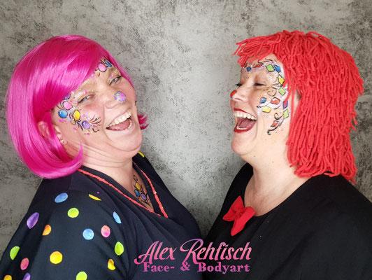 Karneval Make Up zwischen Aachen & Köln