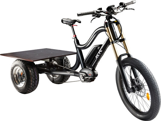 XCYC Lasten/Cargo 25km/h e-Bike Pick-Up Performance 2020