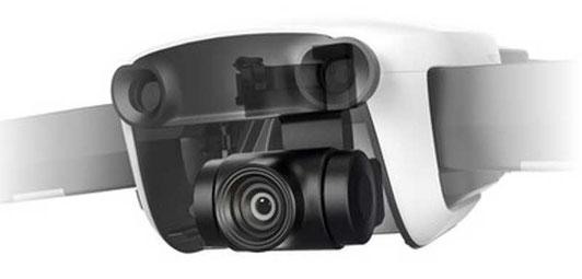 La cámara del DJI Mavic Air cuenta con 3 ejes mecánicos