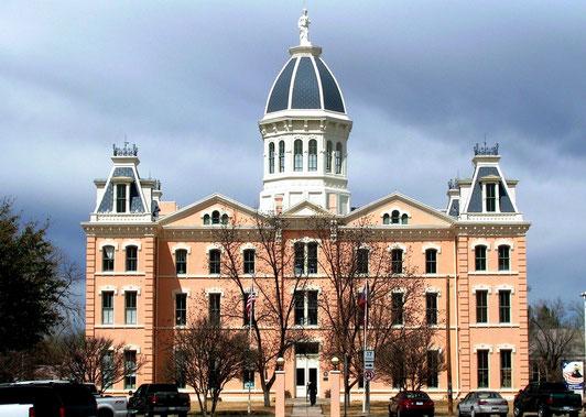 Presidio County Courthouse in Marfa, TX