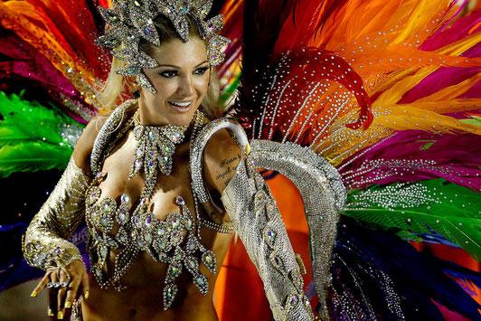 Fiesta temática carnaval de brazil