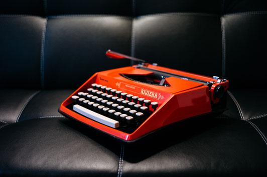 Schreibmaschine bei Textura-Textservice