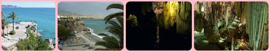 Nerja caves. Taxi Frigiliana.
