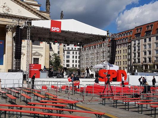 Berlijn op Maat - excursie - SPD - Gendarmenmarkt.
