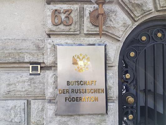 Excursie in Berlijn - politiek - ambassades