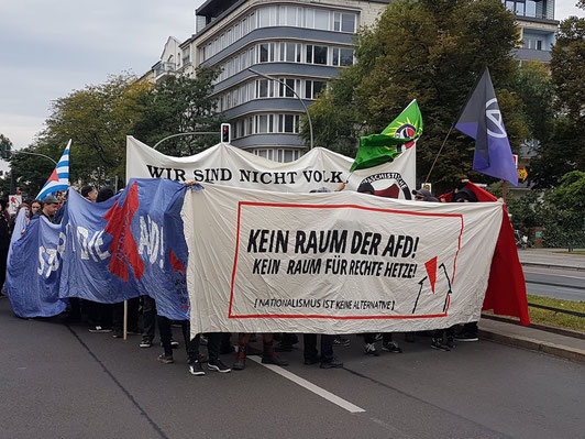 Berlijn op Maat - excursie - politiek - AFD - demonstratie