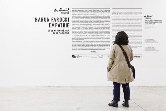Harun Farocki, Friche Belle de Mai, Marseille © jean christophe Lett