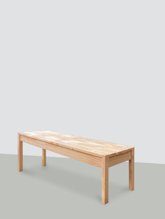 banc de jardin bois douglas made in france
