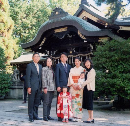 N様ご家族(2016年11月 カラーフィルム撮影)
