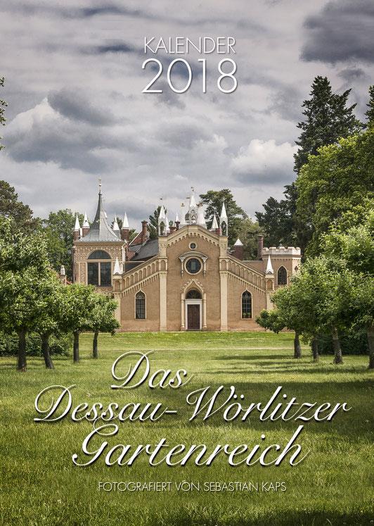 Dessau-Wörlitzer Gartenreich, Kalender 2017, Sebastian Kaps