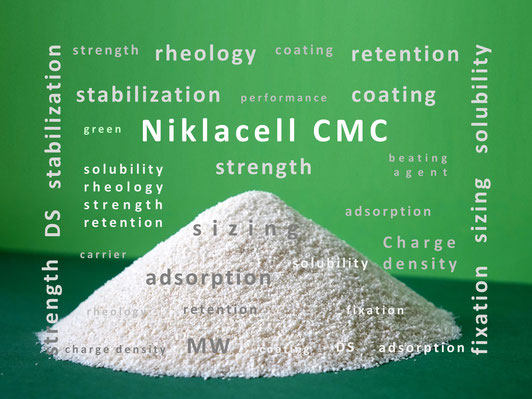 Niklacell CMC Carboxymethylcellulose Mare Austria