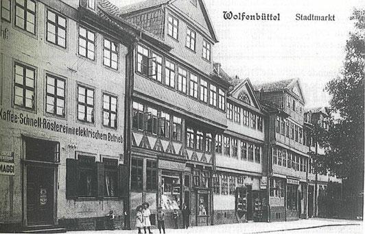 Foto Kaffeerösterei Wolfenbüttel im Jahe 1907