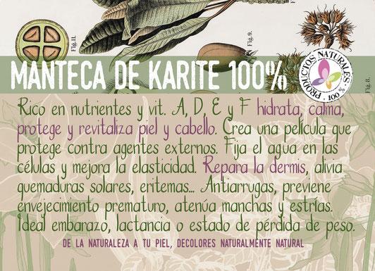 manteca del karité-cosmética natural ecológica