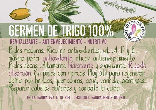 aceite esencial de germen de trigo-antioxidante-cosmética natural ecológica-decoloresnatur