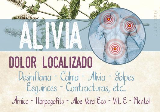 Alivio natural de dolores-cosmética ecológica-tienda online decolores natur