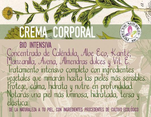 crema corporal bio intensiva-cosmética natural ecológica