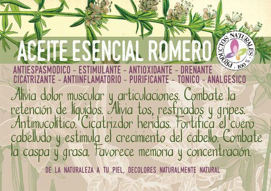 aceite esencial de romero-cosmética natural ecológica-agricultura ecológica