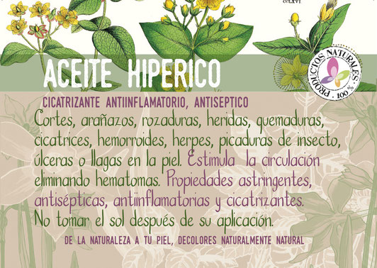 Aceite de Hipérico online-decolores natur-cosmética ecológica