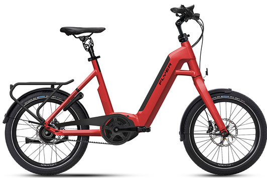 E-Bike FLYER Upstreet1 rot